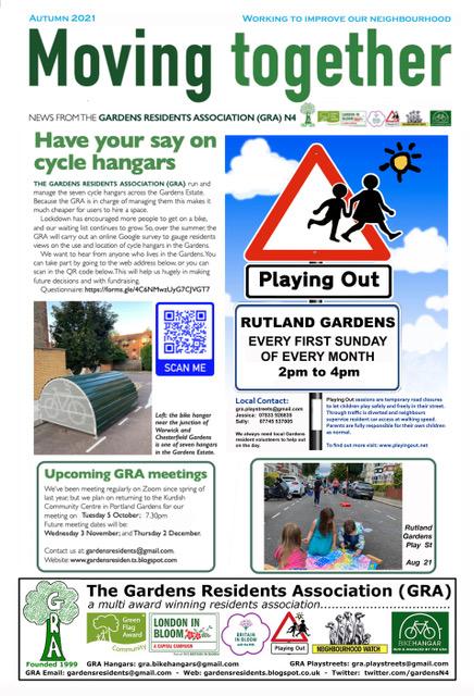 GRA Autumn 2021 Newsletter