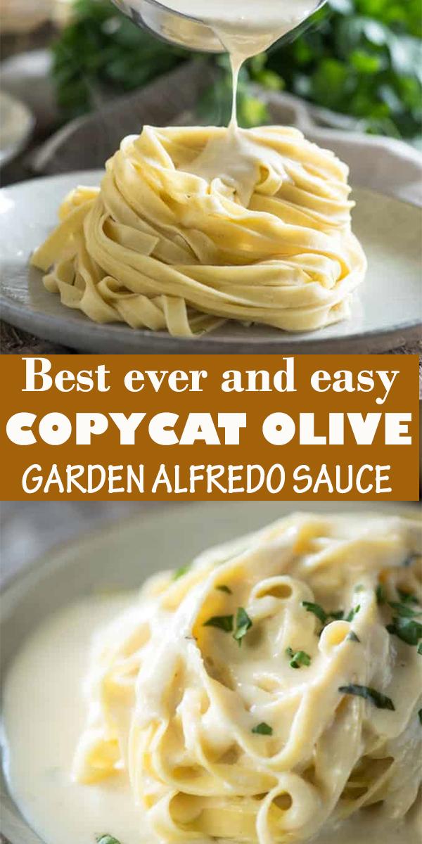 COPYCAT OLIVE GARDEN ALFREDO SAUCE #COPYCAT #OLIVE #GARDEN #ALFREDO #SAUCE #COPYCATOLIVEGARDENALFREDOSAUCE #dinner #food