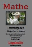 Kreisbogen Kreisausschnitt Textaufgaben PDF