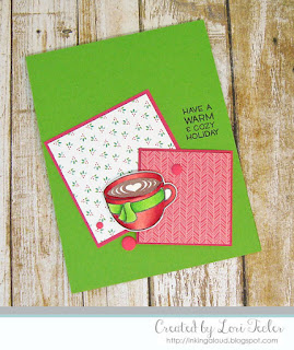 Warm and Cozy Holiday card-designed by Lori Tecler/Inking Aloud-stamps from Lawn Fawn