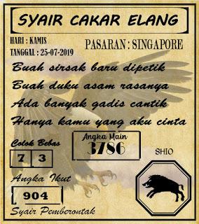 SYAIR  SINGAPORE  25-07-2019