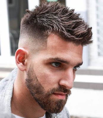 trend rambut pria Short And Spiky