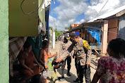 Kapolres Kep. Selayar Pimpin Gerakan Bhakti Sosial Covid-19 di Benteng