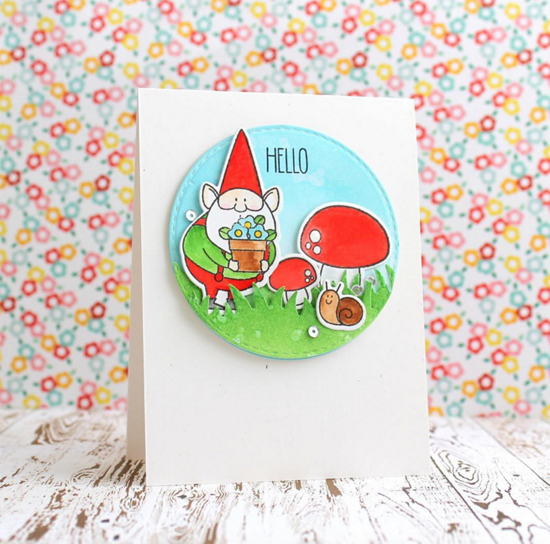 Birdie Brown You Gnome Me stamp set and Die-namics - Svetlana Pavlova #mftstamps