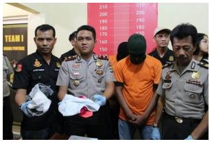"""Seorang Pemuda ditangkap Polisi karena """"Layari"""" Siswi SMP dengan janji pinjaman uang"""