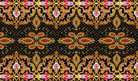 Vector Border Textile Print PNG 2358