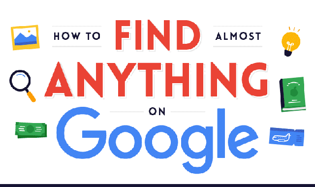 How to Find (Almost) Anything on Google #infographic