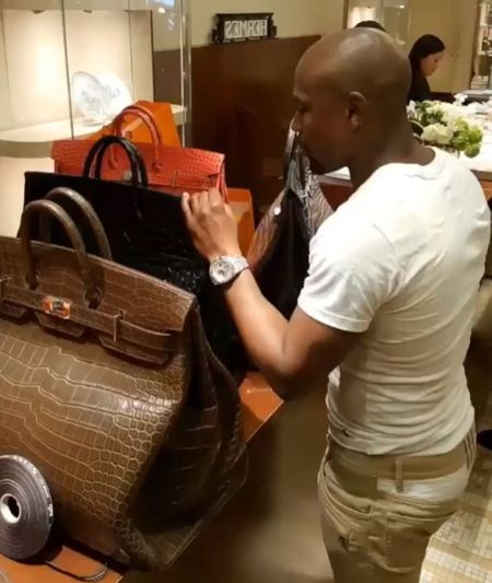 most expensive things owned by Mayweather - Hermes bag