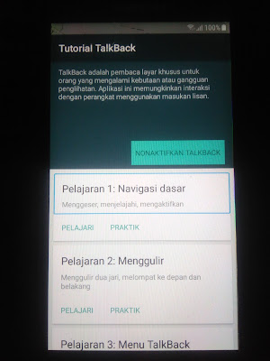 Cara Bypass FRP Samsung Galaxy J5 Prime SM-G570Y - TalkBack