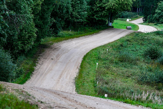 WRC Rally Estonia Stage Road