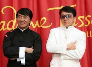 Escultura de Cera de Jackie Chan