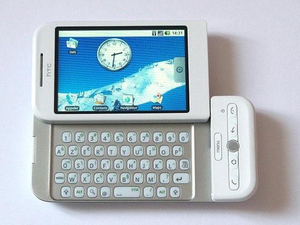 أول هاتف بالعالم يعمل بنظام أندرويد من HTC