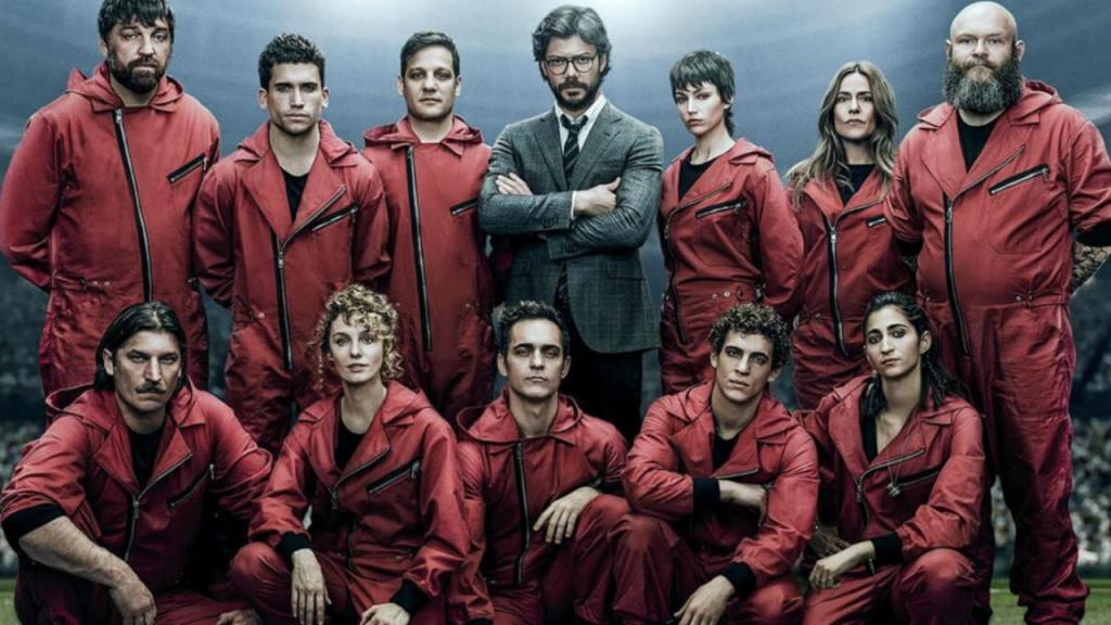 La Casa de Papel quebrou mais um recorde da Netflix