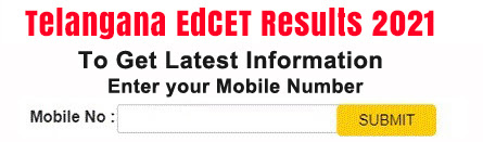 TS EdCET Results 2021