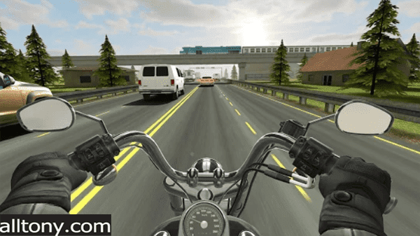 تحميل لعبة Traffic Rider للأيفون والأندرويد APK التحديث الجديد