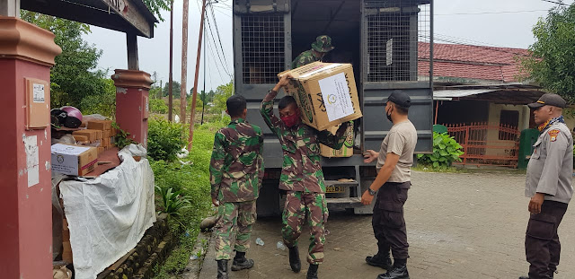 2 Kloter Bantuan Logistik Polres Gowa Tiba Di Kabupaten Luwu Utara