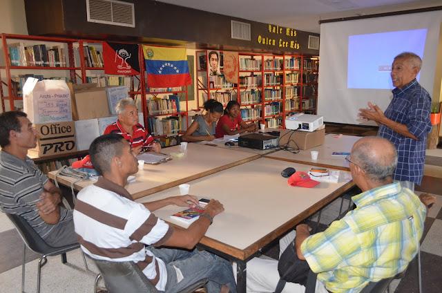 En Coro. La Escuela de Formación Proletaria 1° de Mayo prepara nuevos facilitadores