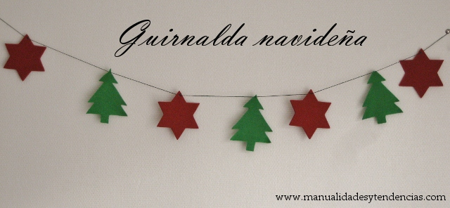 DIY Guirnalda navideña / Christmas garland / Guirlande Noël