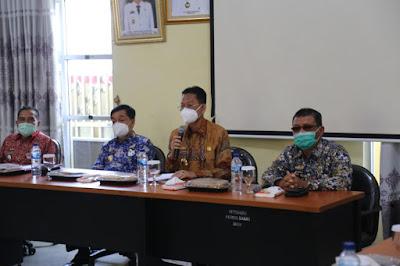 Chrisna Putra Hadiri Entry Meeting Inspektorat Provinsi Lampung