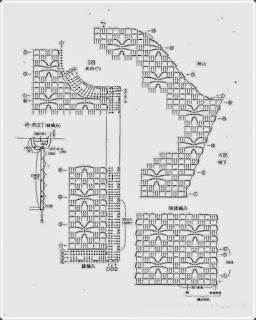 Tığ işi Örgü Yelek Modelleri 2