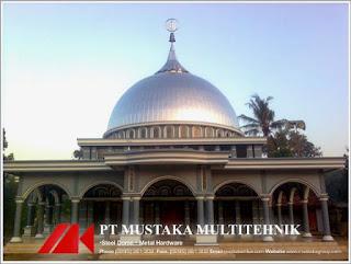 Kontraktor Kubah Masjid Stainless Steel