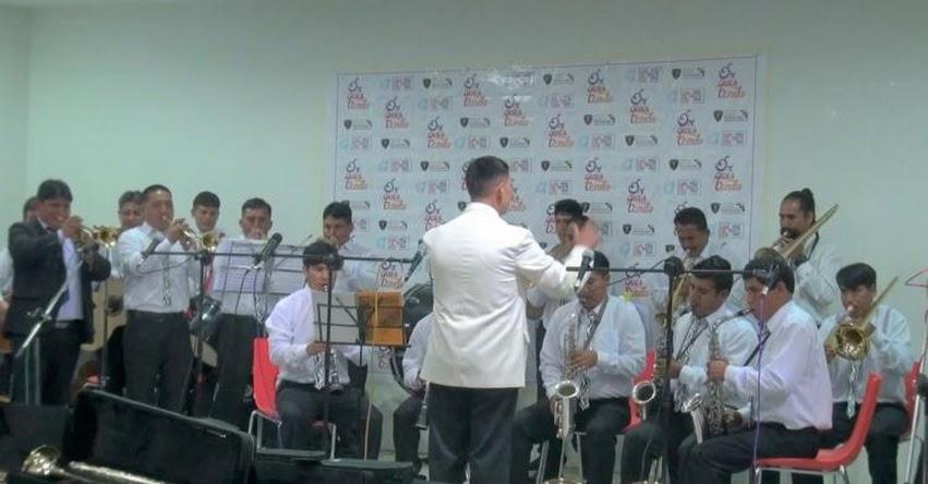 Banda Sinfónica de penal de Huancayo realiza su primera presentación pública - Junín