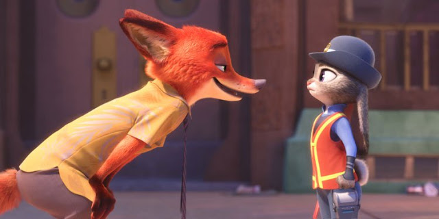 "A scene from ""Zootopia"", the favorite to win the Oscar for Best Animated Feature"