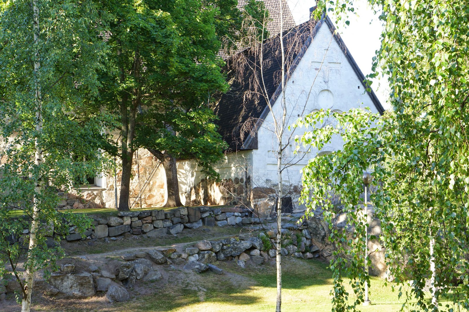 old rauma church