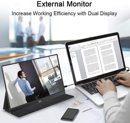 Review IVV 15.6 Full HD USB Type-C Portable Monitor