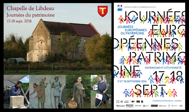 TOUL (54) - Journées du patrimoine à Libdeau (17-18 septembre 2016)