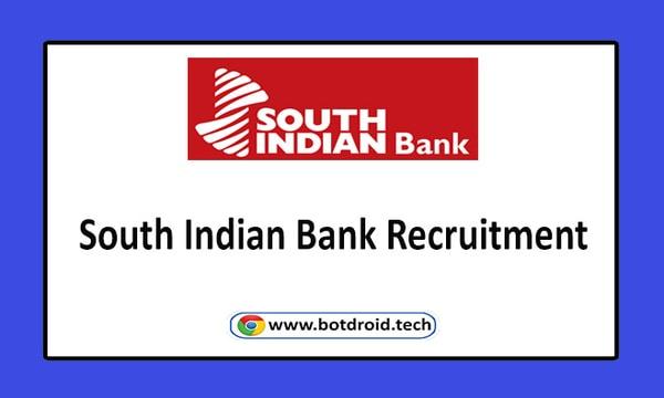 South Indian Bank Recruitment 2020, Apply Online for SIB Job Vacancies