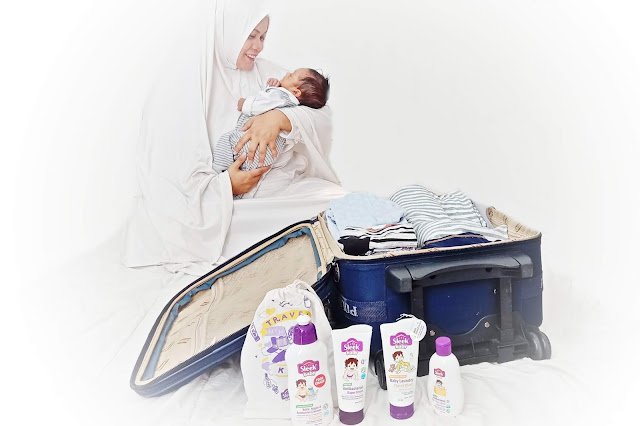 Sleek Baby Travel Kit