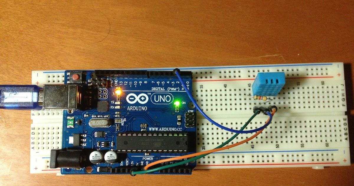 Arduino筆記(九):DHT11溫濕度感應偵測與LCD顯示 - 天花板隨記