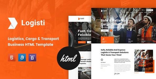 Logisti v1.1 - Logistics & Transport HTML5 Template