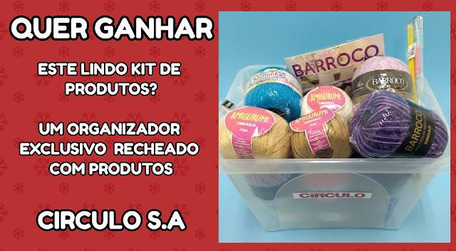 Mega Sorteio Blogs www.katiaribeiro.com.br e www.croche.com.br