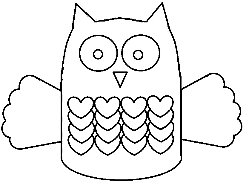 Curved Line Tracing   Printable Worksheets   Pinterest ...   Owl Tracing For Cut Out
