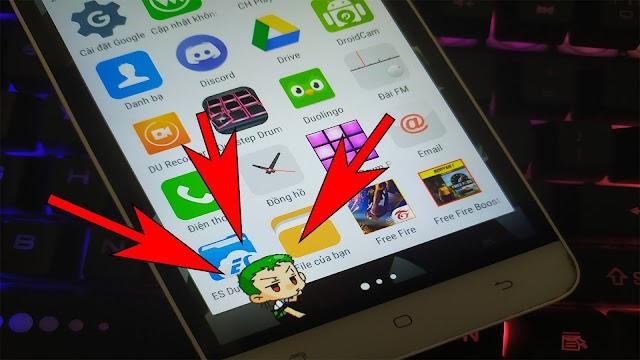 Cách thêm Zoro cực cute duy chuyển trên màn hình điện thoại