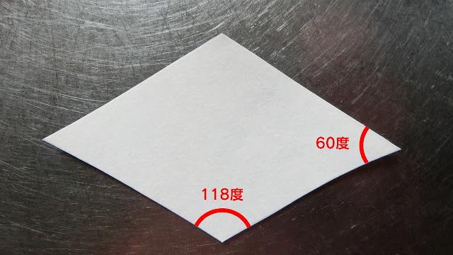 菱餅の型紙