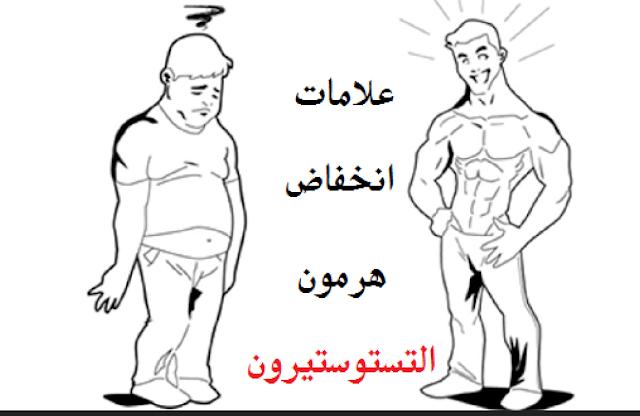 علامات نقص هرمون الذكورة وضعف الإنتصاب القدرة الجنسية