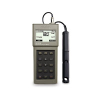 Jual DO Meter Dissolved Oxygen and BOD Meter Hanna HI 98186 Call 0812-8222-998