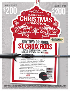 Monster Fishing Tackle: St  Croix Rods Promo - Free Rage Rod!