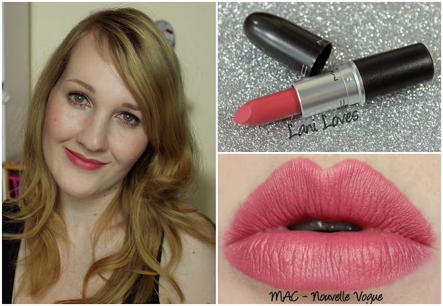 MAC Nouvelle Vogue lipstick swatch