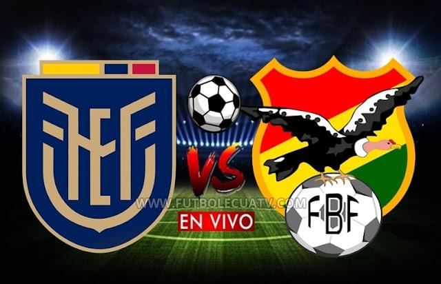 Ecuador y Bolivia se miden en vivo prosiguiendo las justas de las Eliminatorias Qatar 2022 con transmisión de El Canal del Fútbol, a efectuarse en el reducto Monumental Banco Pichincha a partir de las 19:30. Con arbitraje principal de Wilmer Roldán.