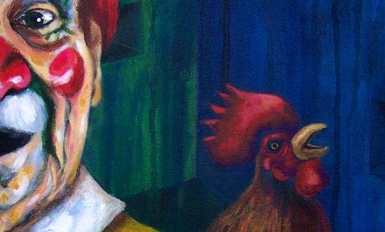 Pintura, Ave de mal agüero de Rosana Rossi