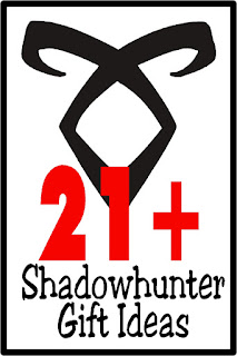 Shop for gift ideas all your Shadow hunter friends with this unique Shadowhunter gift guide filled with handmade items that you don't have to make. Makes great Christmas gifts, birthday gifts, and I am thinking of you today gifts! #shadowhunter #giftguide #giftidea #mortalinstruments #infernaldevices #