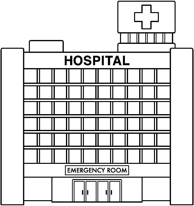 Dibujos Para Colorear Hospital Imagui