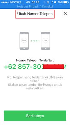 Ganti Nomor Line! Cara Mengganti Nomor HP di Line Terbaru