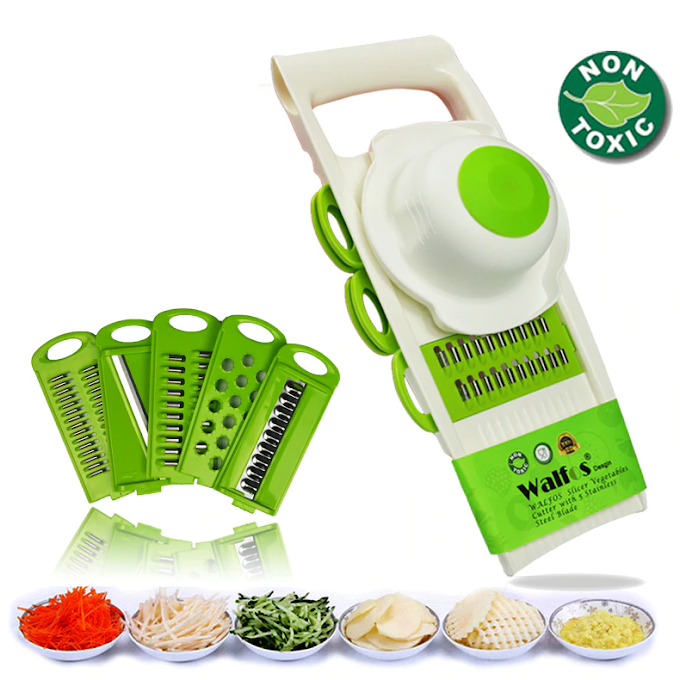 Vegetables Cutter Tools with 5 Blade Multifunction Kitchen Accessories