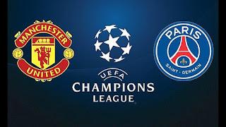 ماتش باريس سان جيرمان مانشستر يونايتد بث مباشر