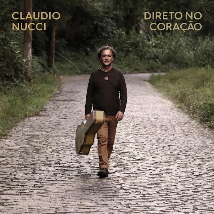 Claudio Nucci refaz belos caminhos melódicos na trilha afetiva do álbum 'Direto no coração'